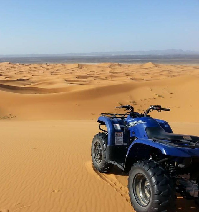 Quadbike desert safari with lunch in the desert